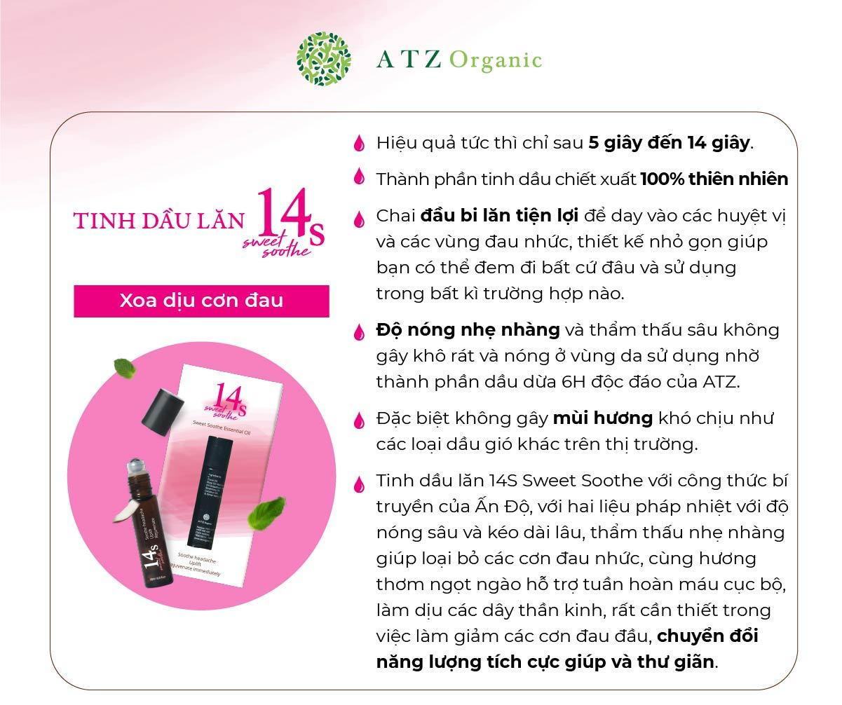 tinh dau lan 14s sweet soothe 6