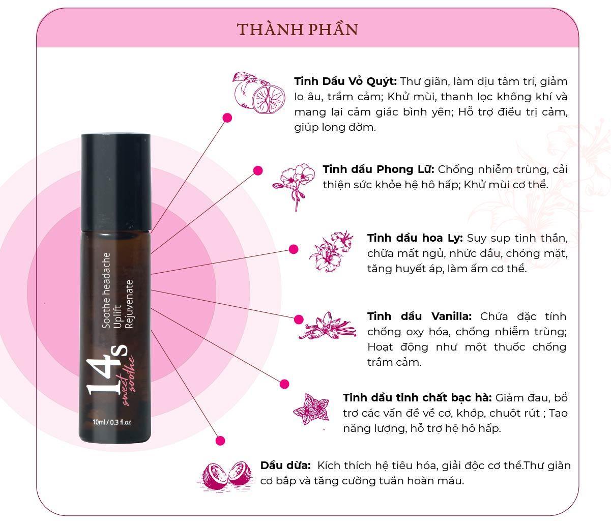 tinh dau lan 14s sweet soothe 8