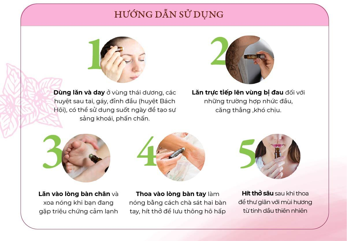 tinh dau lan 14s sweet soothe 9