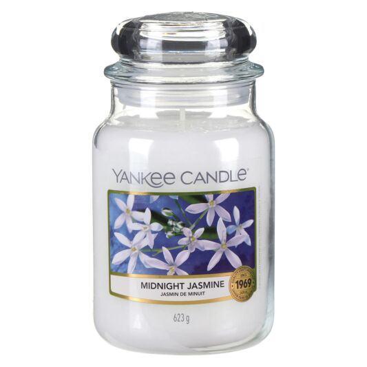 yankee candle 1129548e midnight jasmine large jar candle